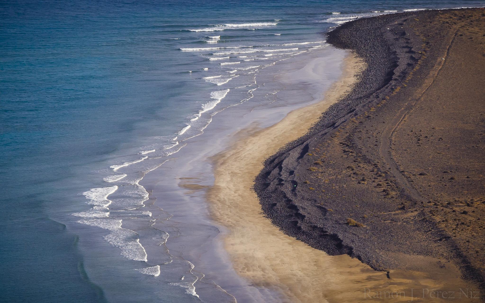 Playa del Risco de Famara.
