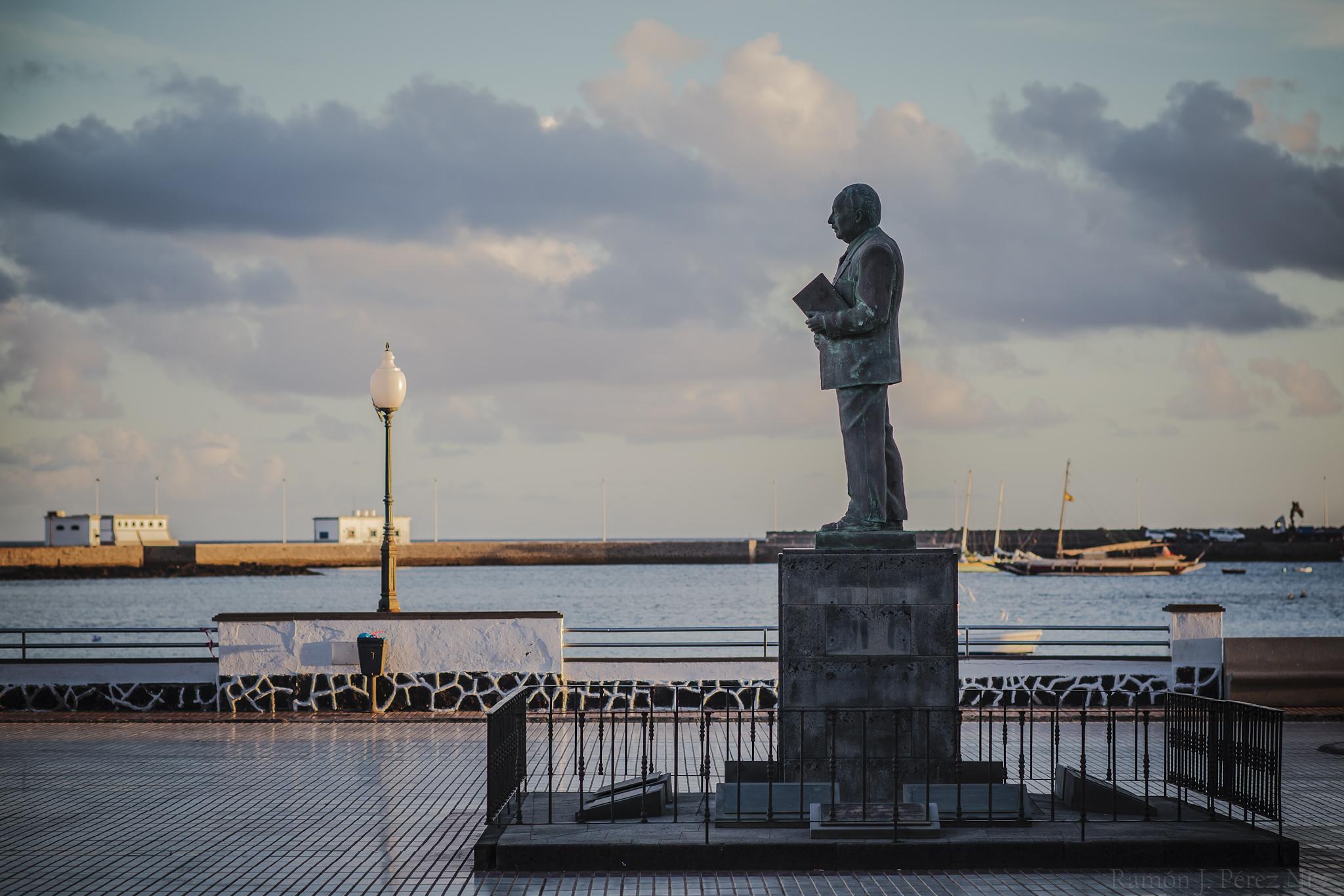 Estatua de este Científico nacido en Arrecife