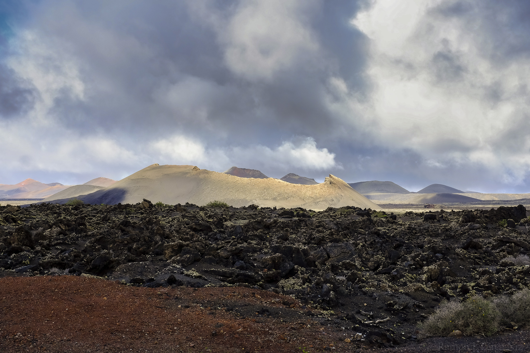 Foto de Ramón Pérez Niz, Volcán El Cuervo