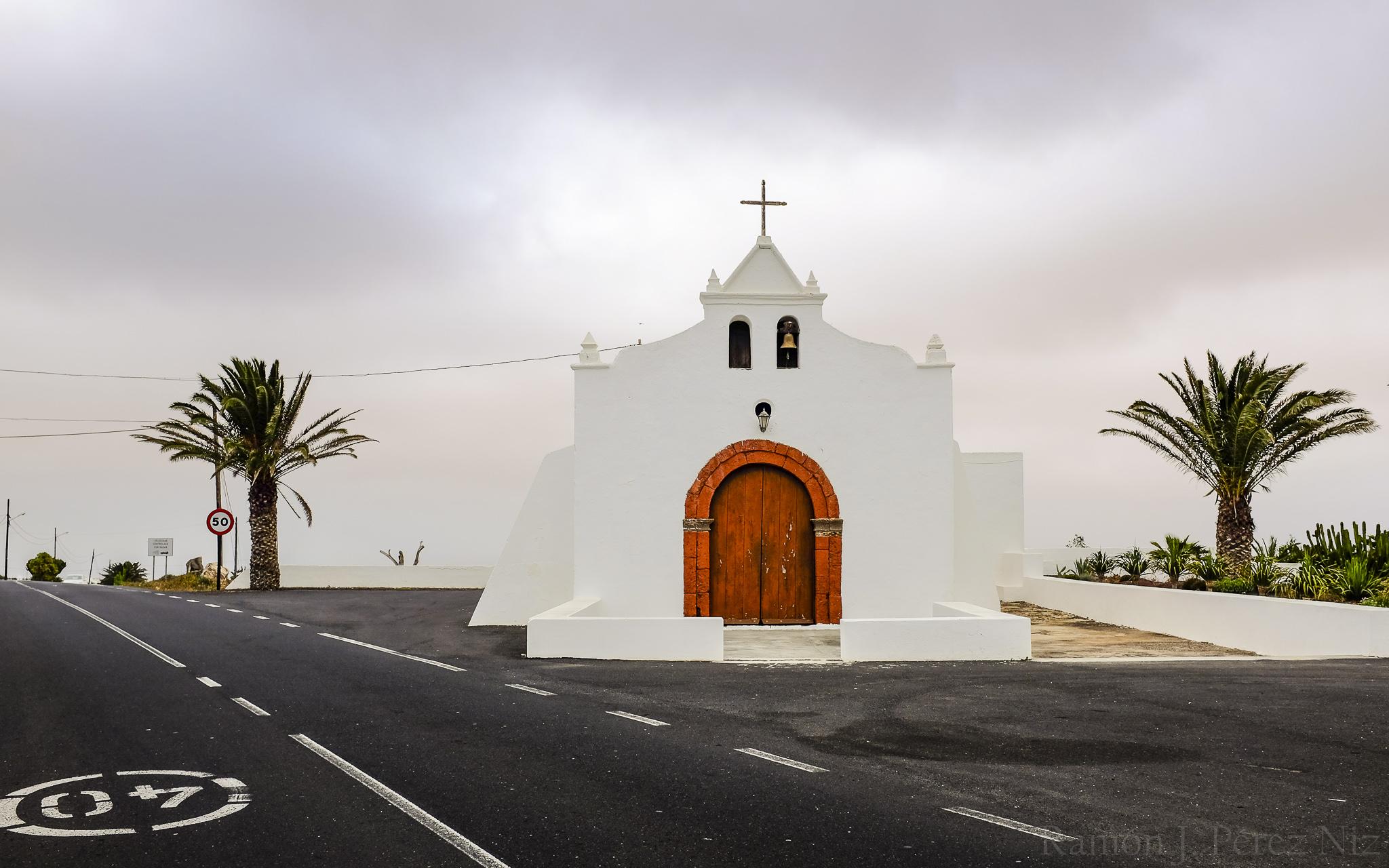 Foto de Ramón Pérez Niz. Ermita de Tiagua