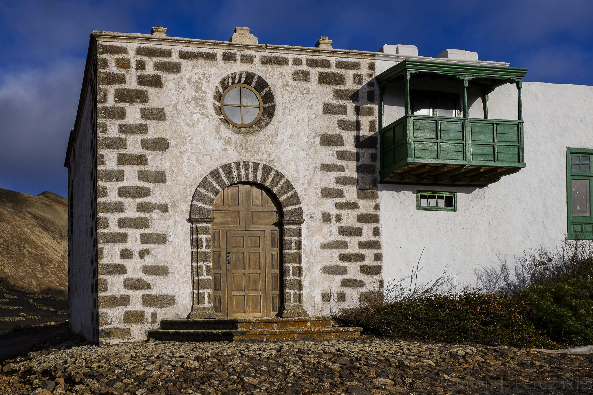 Foto de Ramón Pérez Niz, ermita de la magdalena en Conil