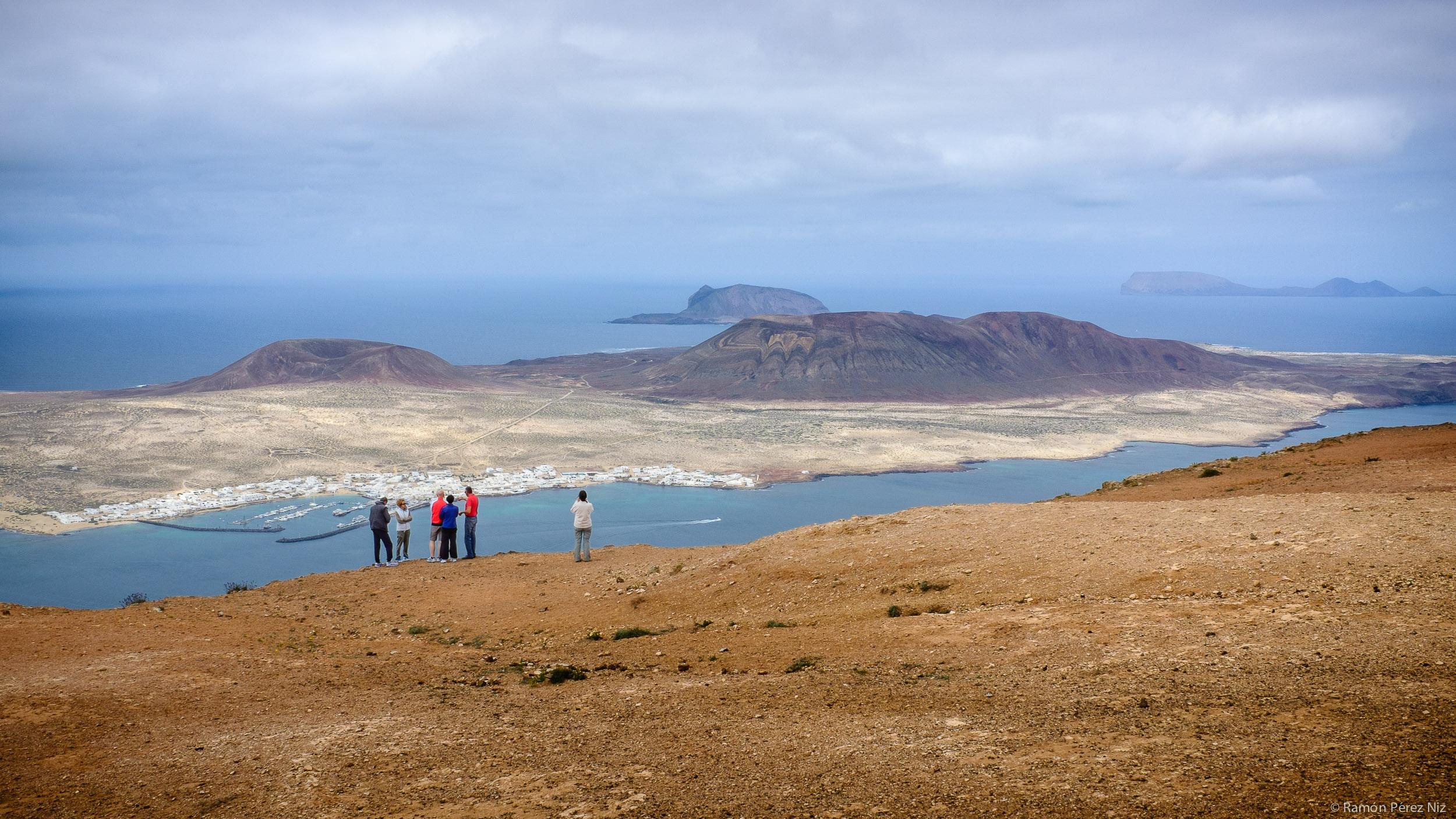 Vista del archipiélago chinijo. Foto de Ramón Pérez Niz.