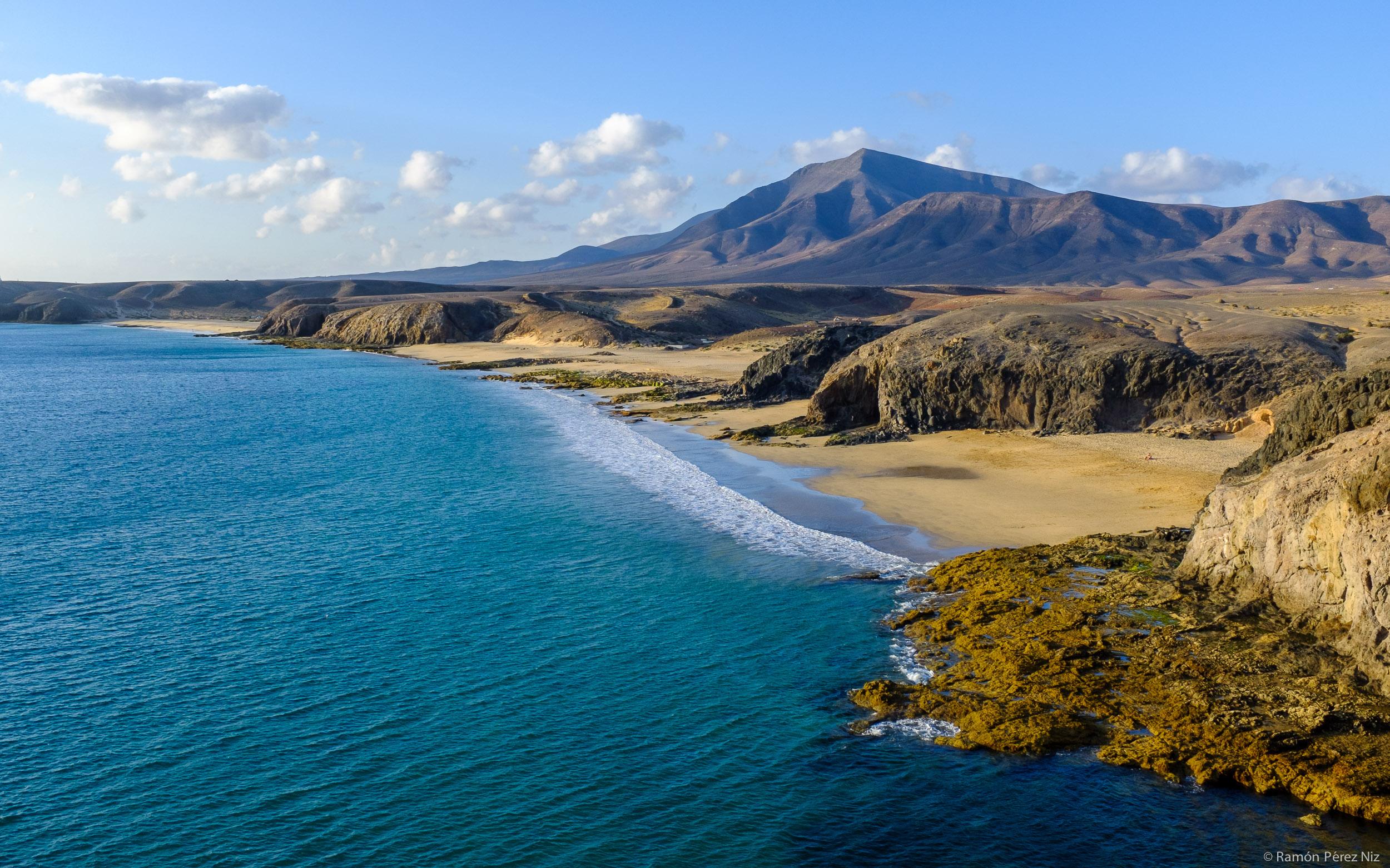 Playas del sur de Lanzarote. Foto de Ramón Pérez Niz