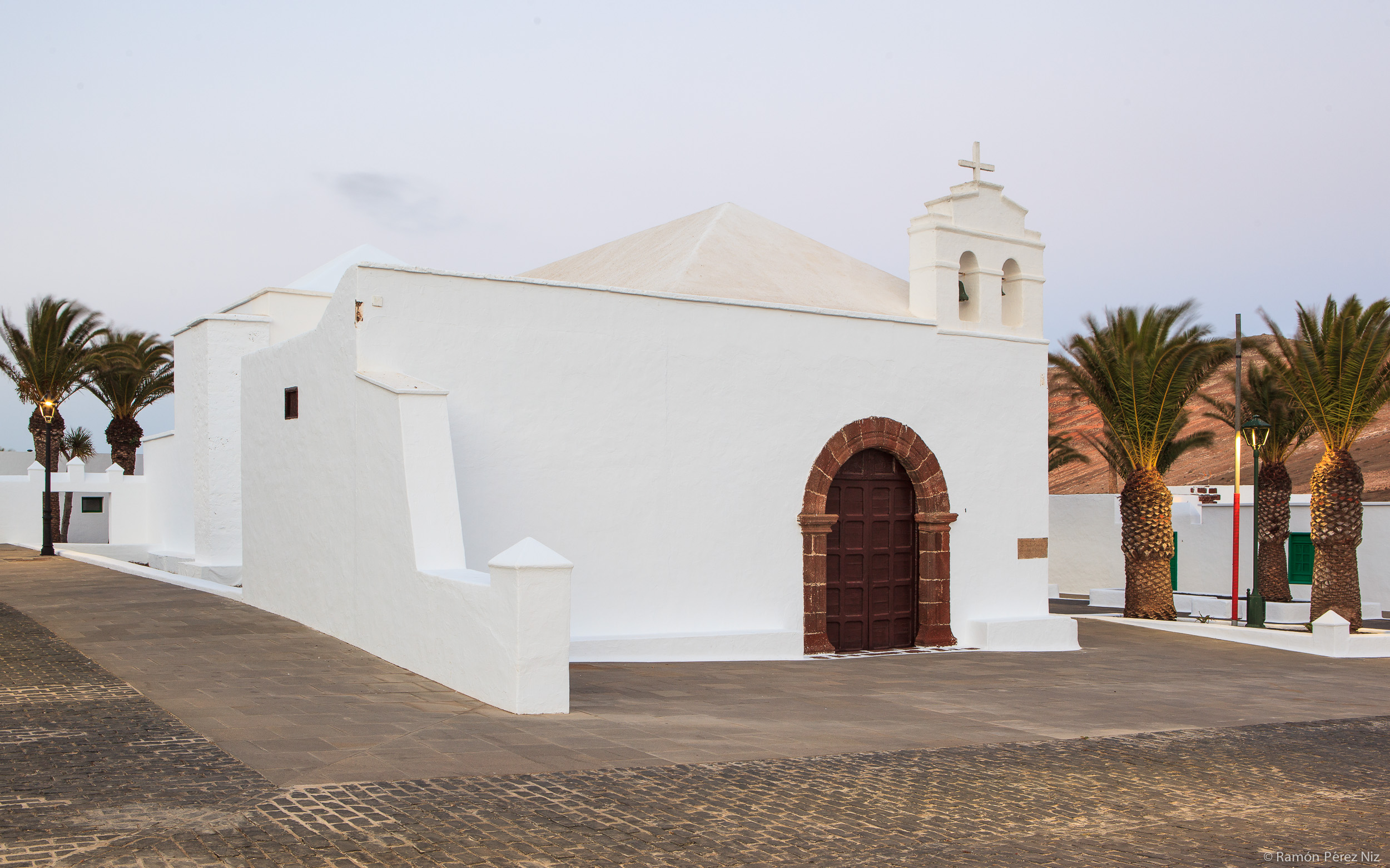 Foto de Ramón Pérez Niz, iglesia de Femés