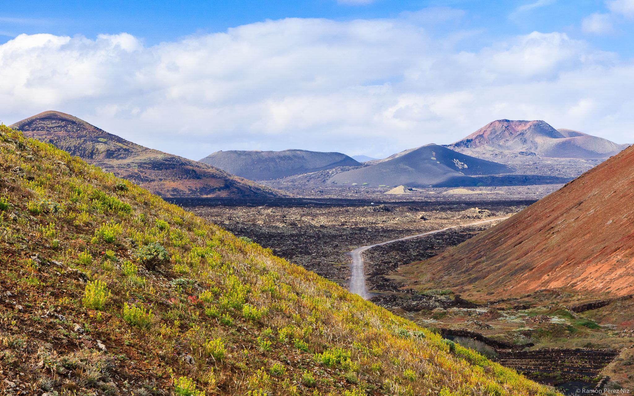 Foto de Ramón Pérez Niz, volcanes de Lanzarote