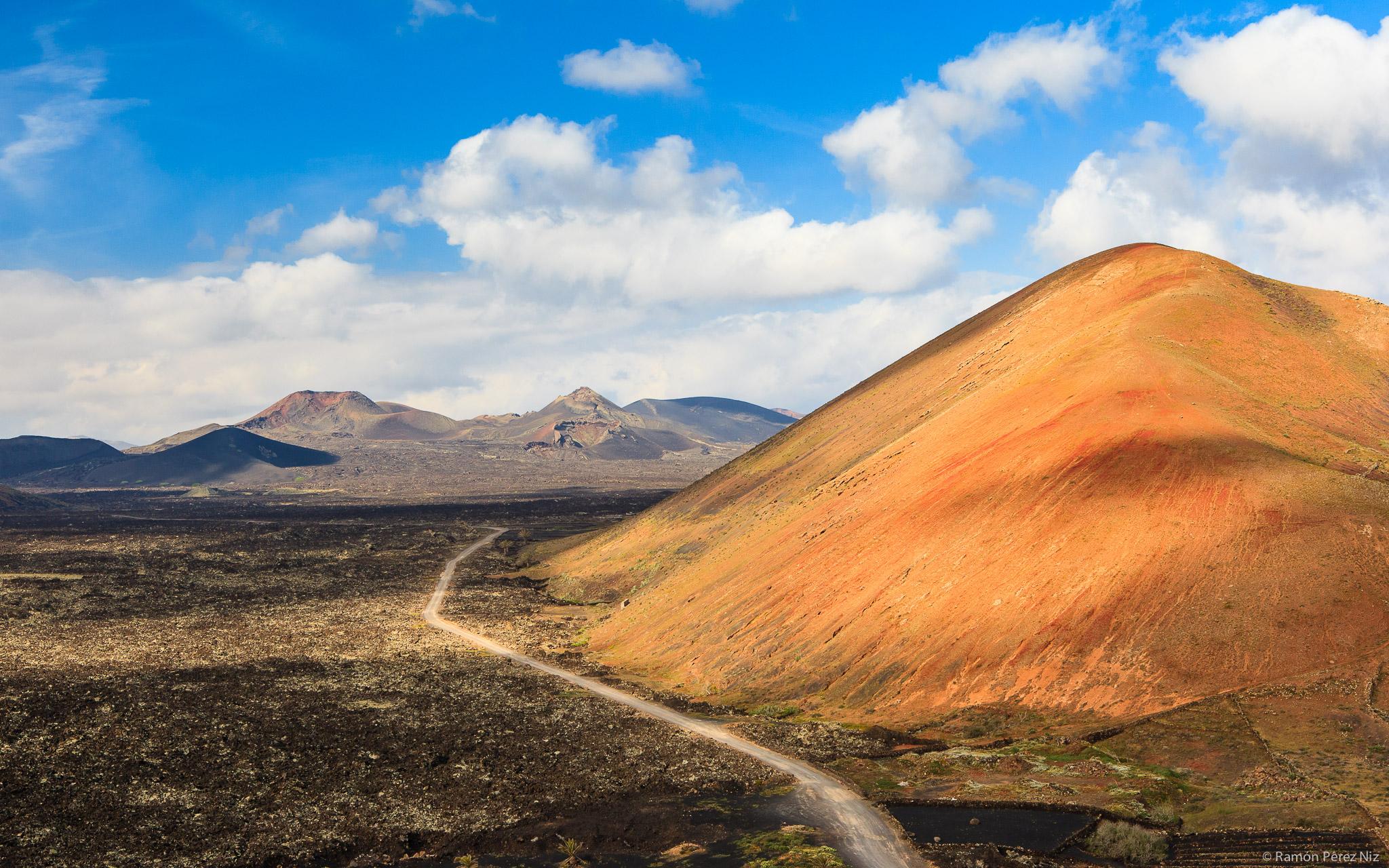 Foto de Ramón Pérez Niz. Volcanes de Lanzarote