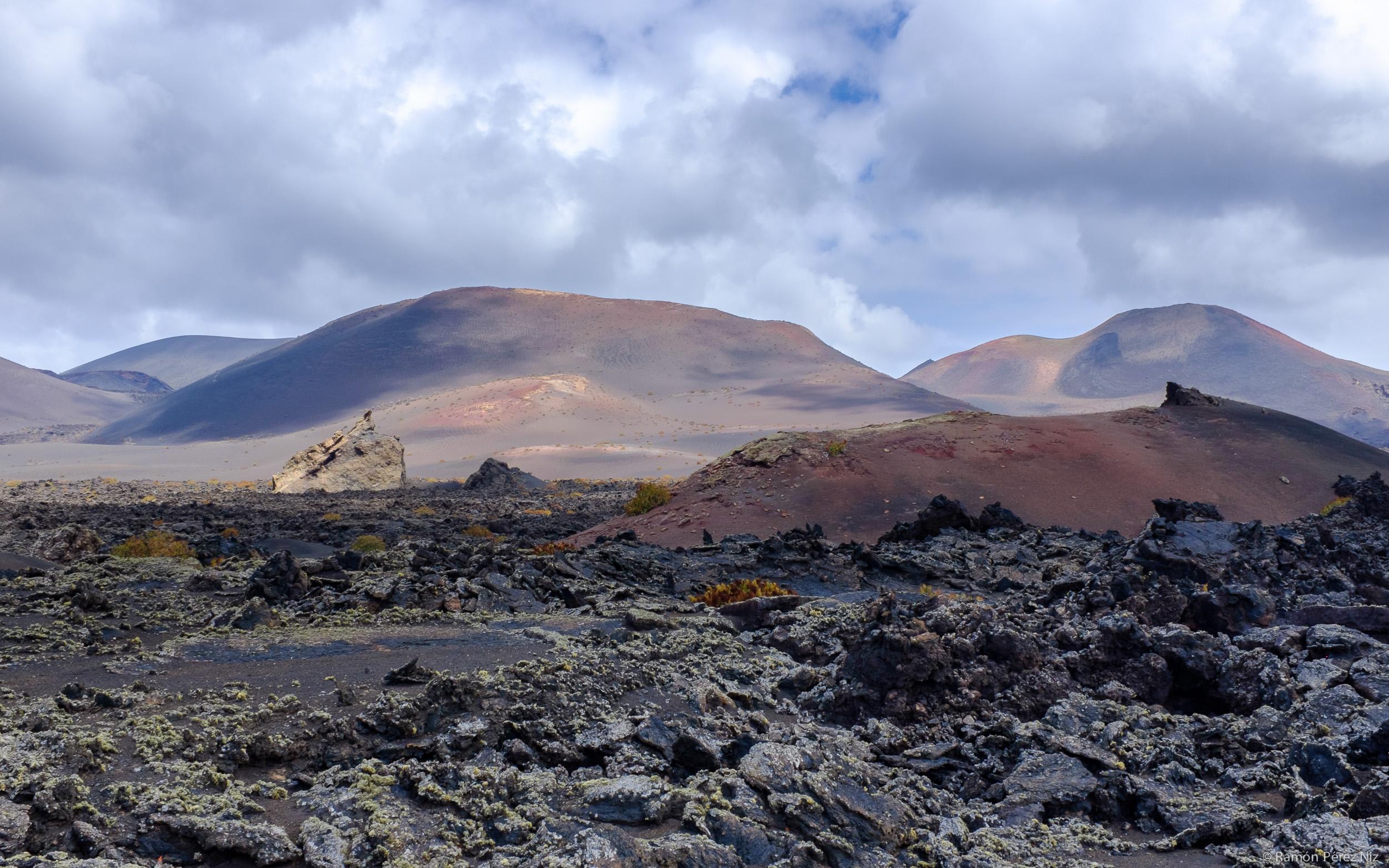 Foto de Ramón Pérez Niz, lava en La Geria