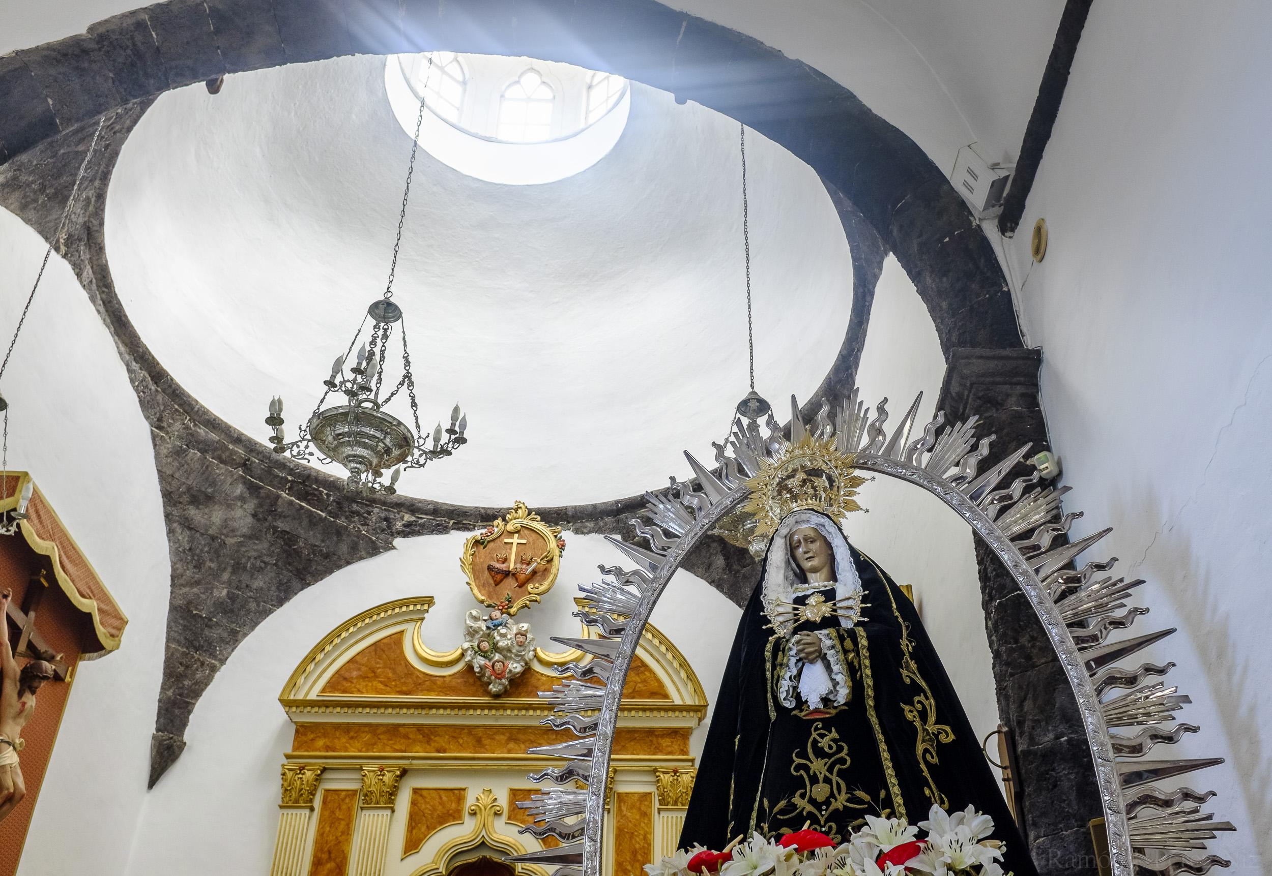 Foto de Ramón Pérez Niz, Virgen de Los Dolores en Mancha Blanca