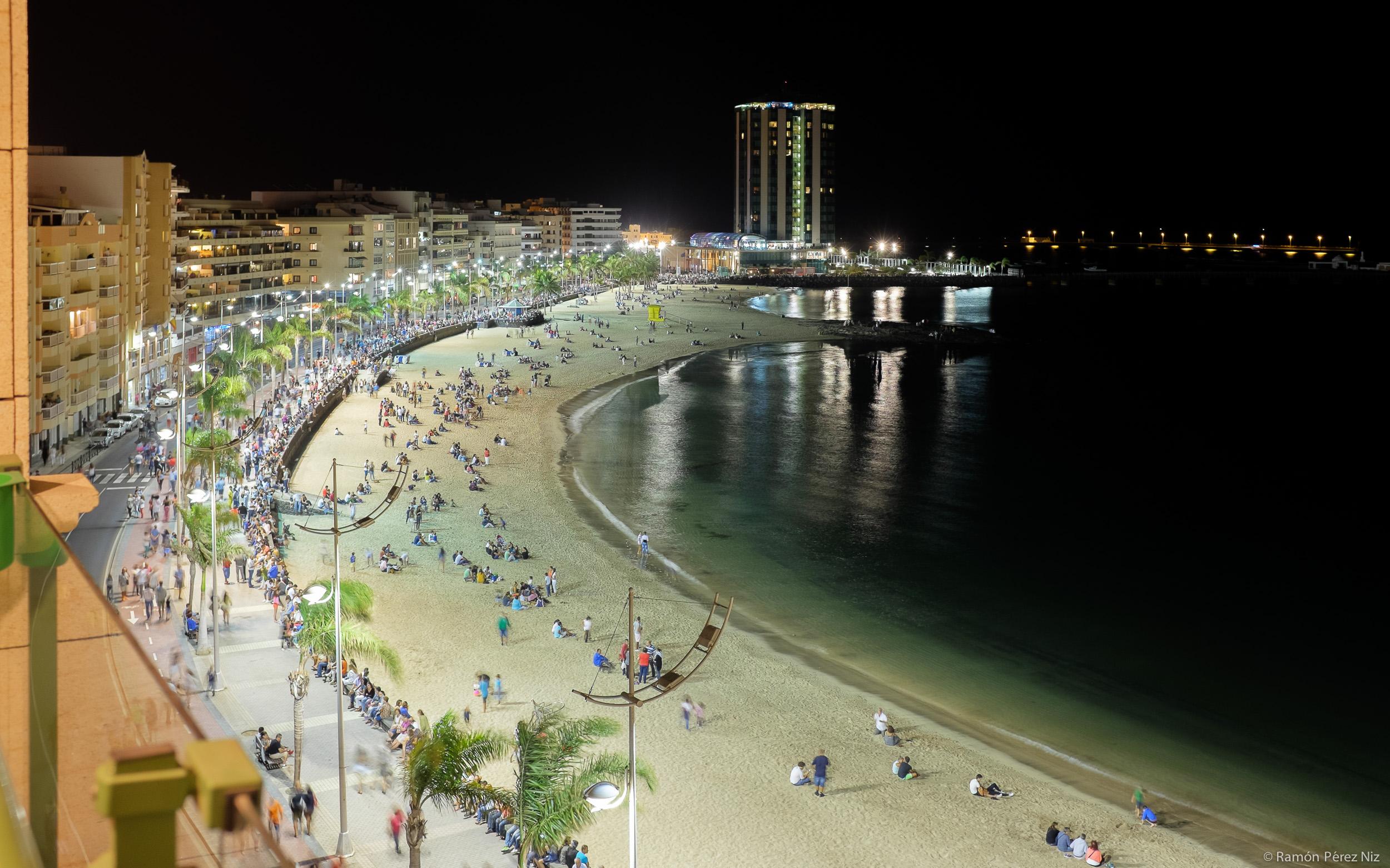 Foto de Ramón Pérez Niz, playa del reducto