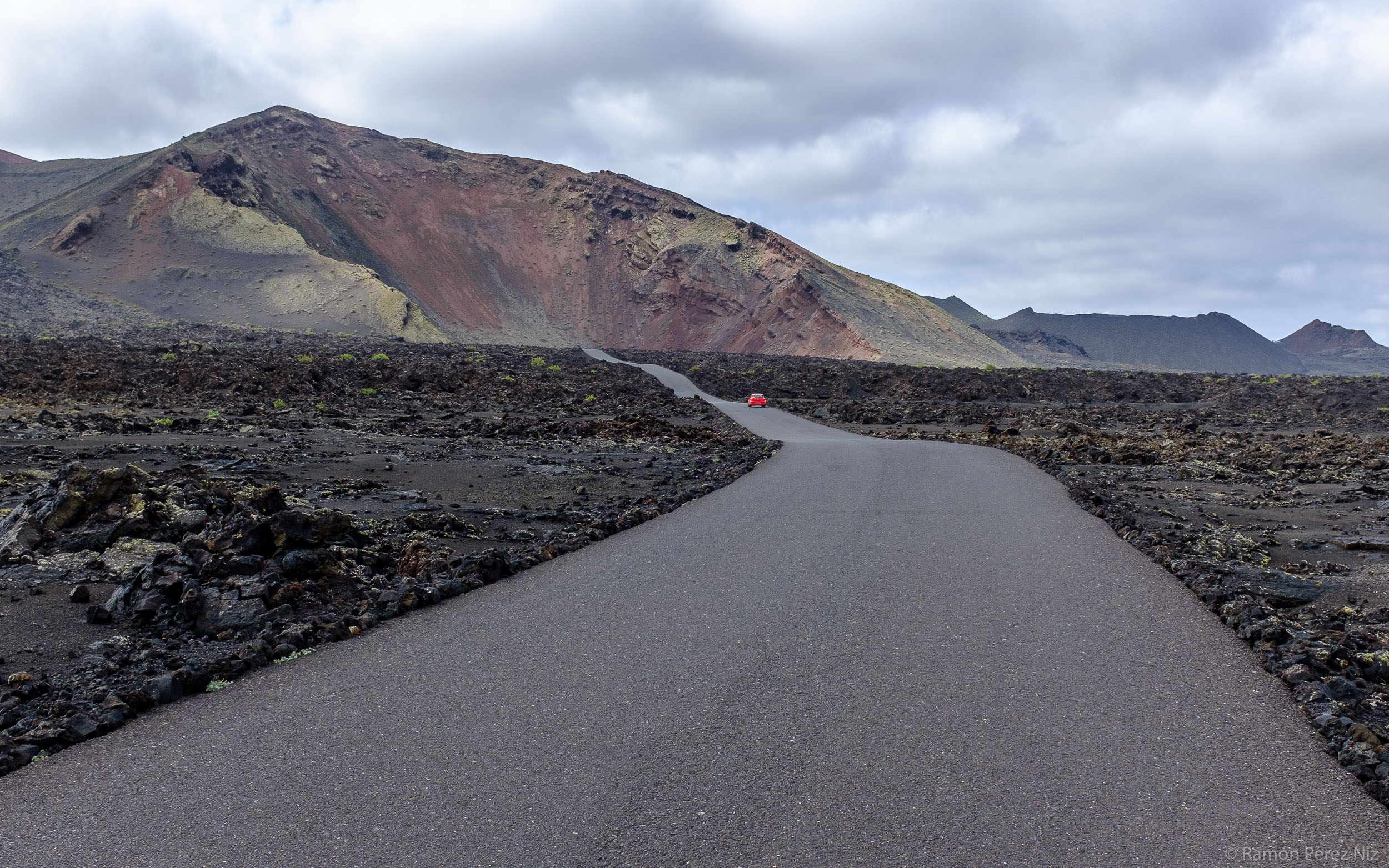 Foto de Ramón Pérez Niz, carretera al islote de Hilario I