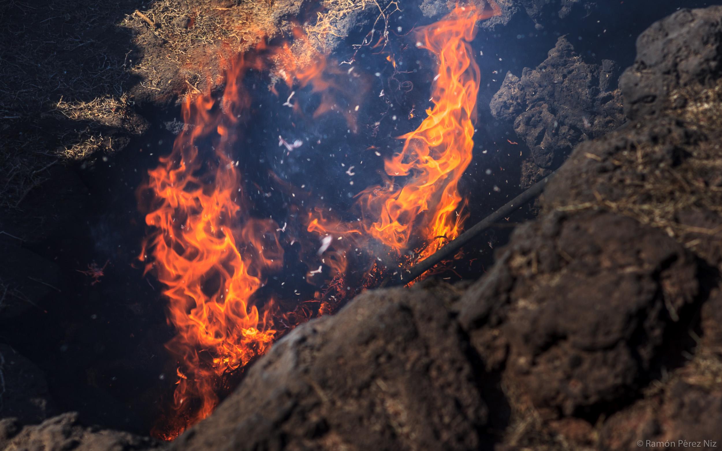 Foto de Ramón Pérez Niz, fuego I