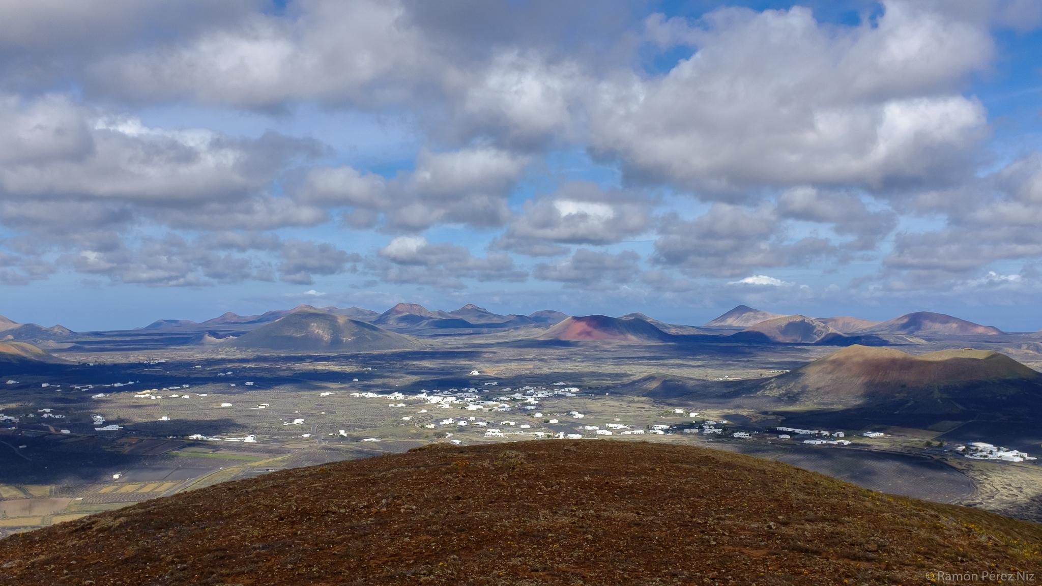 Foto de Ramón Pérez Niz, desde montaña Guatisea