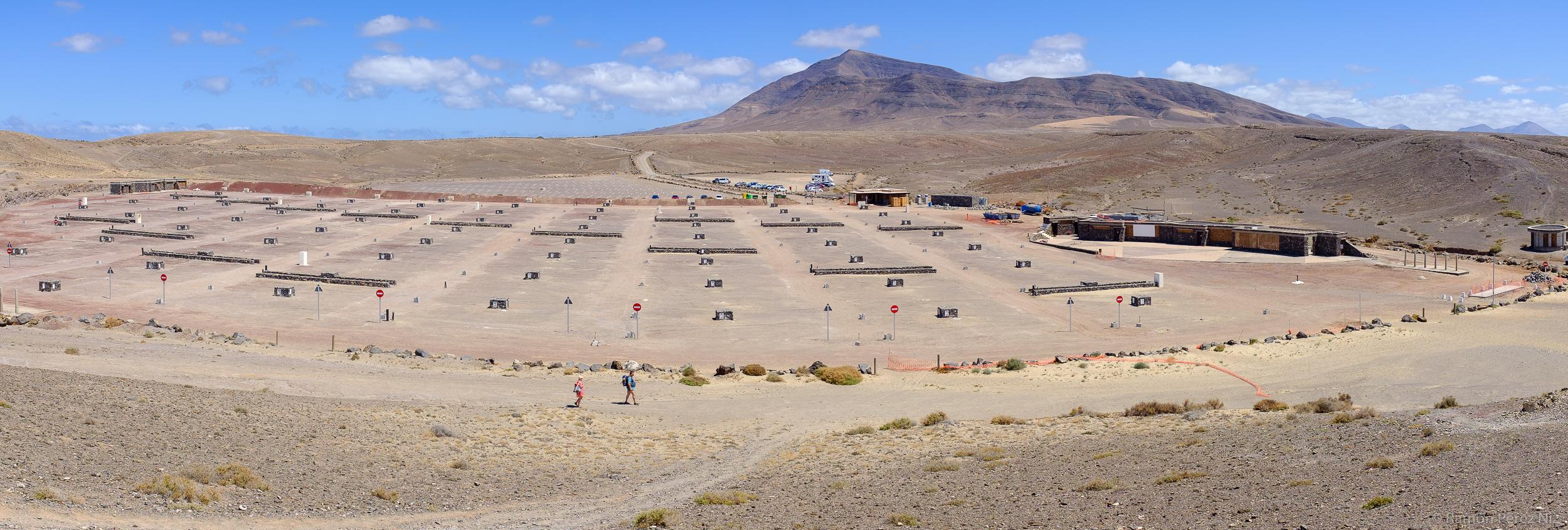 Foto de Ramón Pérez Niz, camping de Papagayo