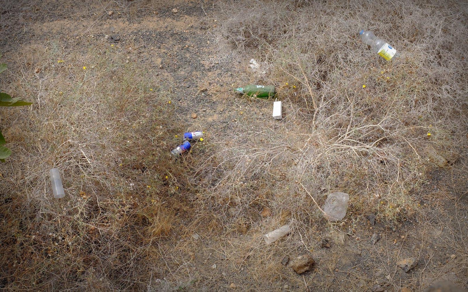 Foto de Ramón Pérez Niz, basura en La Vegueta