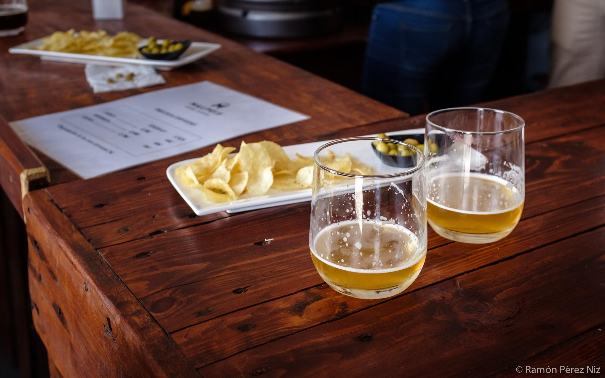 Foto de Ramón Pérez Niz en Cervezas Malpeis