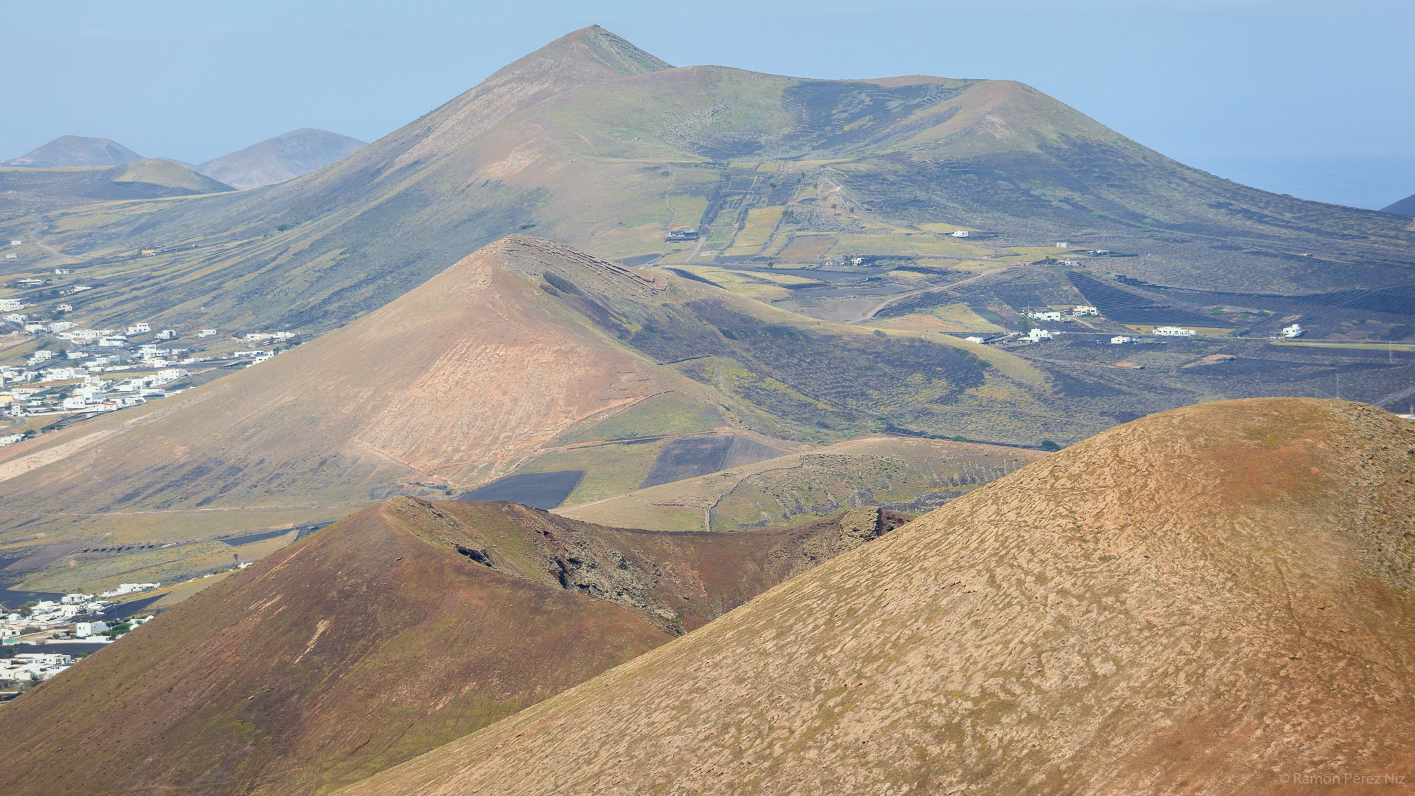 Foto de Ramón Pérez Niz en Montaña Blanca