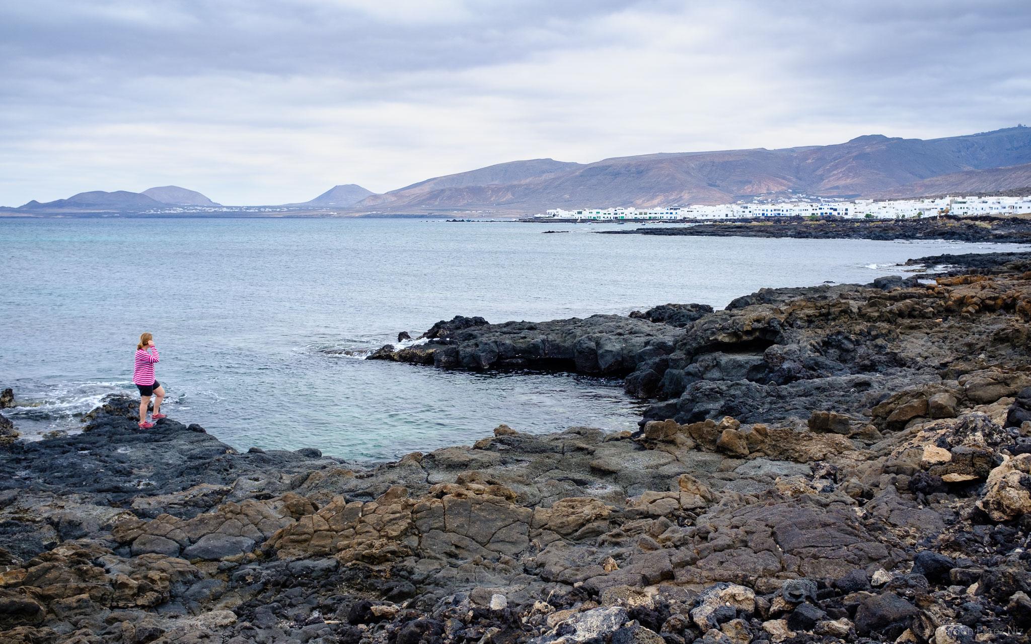 Foto de Ramón Pérez Niz en Punta Mujeres