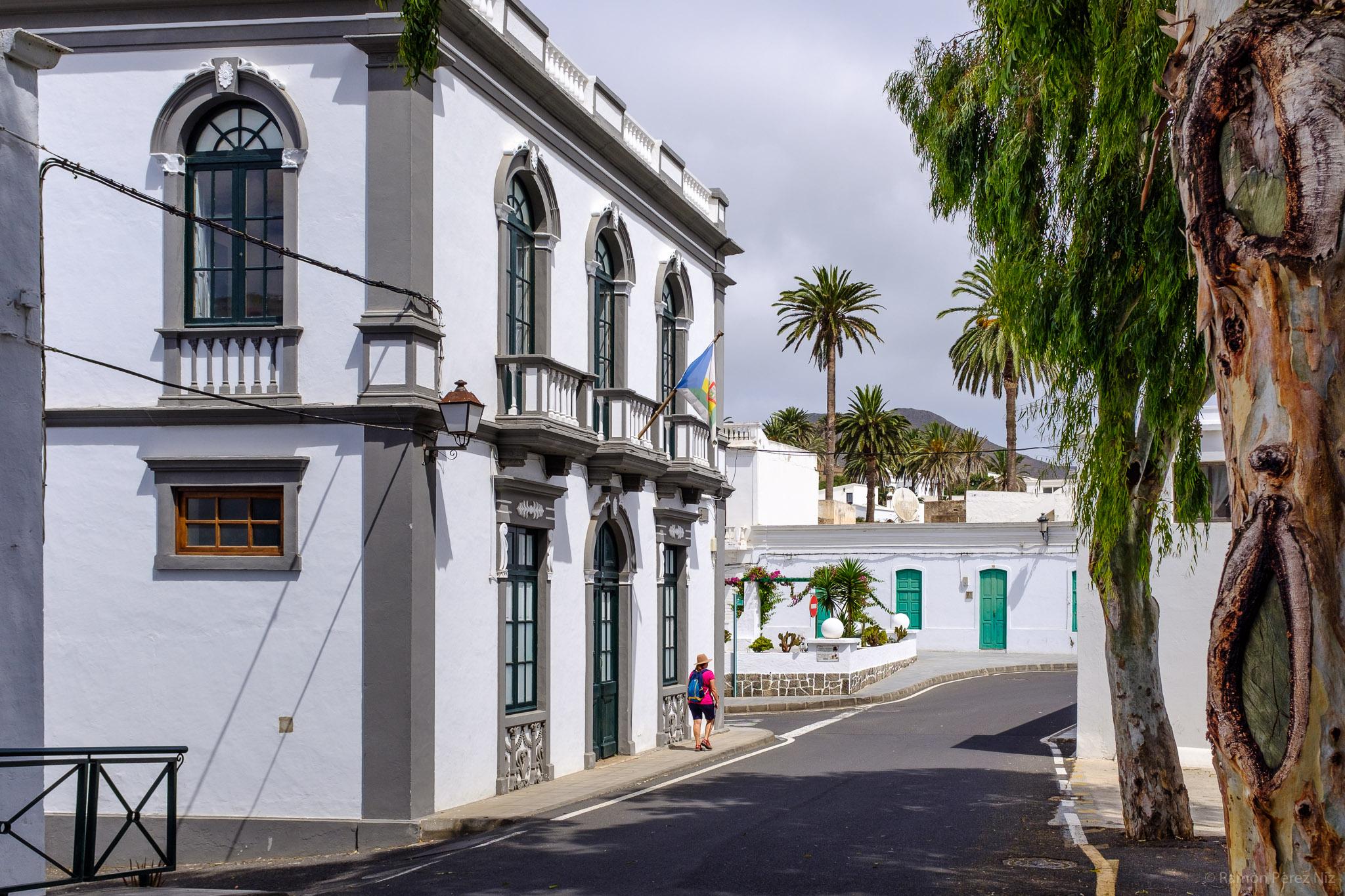 Foto de Ramón Pérez Niz en Haría