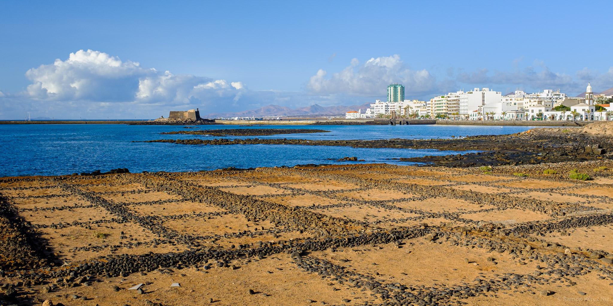 Salinas del Islote del Francés, Marina de Arrecife.