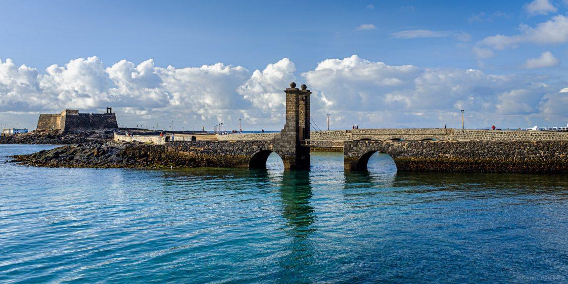 Puente de Las Bolas de Arrecife. Foto de Ramón Pérez Niz