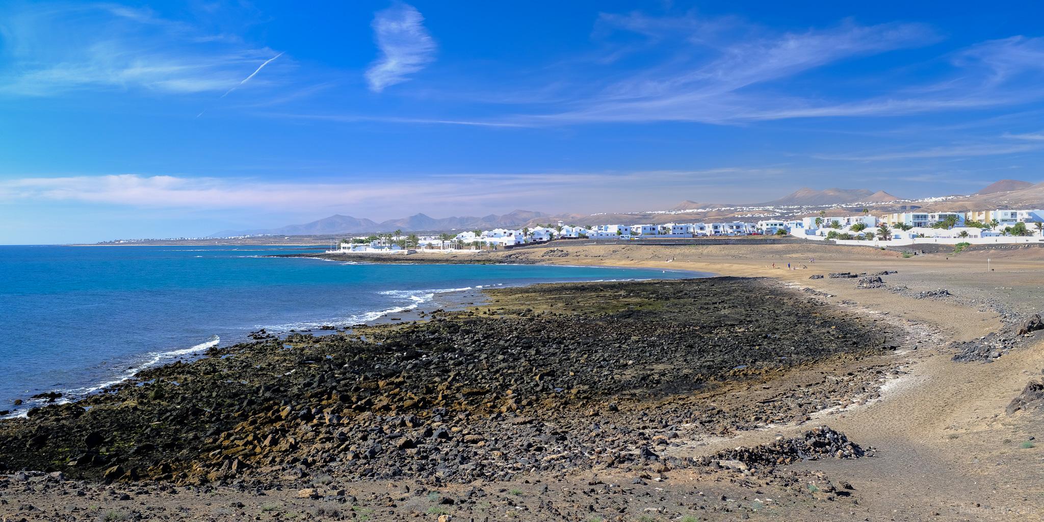 Playa de La Concha en Arrecife.